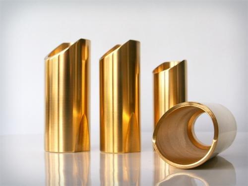 The Rock Slide Polished Brass Slide - Medium