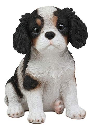 Ebros Adorable Cavalier King Charles Spaniel Dog Breed Statue 5.75