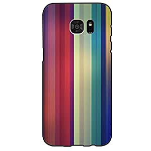 Hot Classic Striped Wallpaper Phone Case Cover For Samsung Galaxy s7 Edge Striped Fashionable