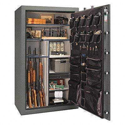 Gun Safe Granite/Chrome 1/2hr. Fire Rate