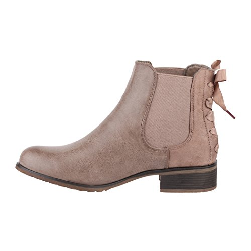 Elara Boots Kaki Femme Elara Chelsea Boots aqrFPdq