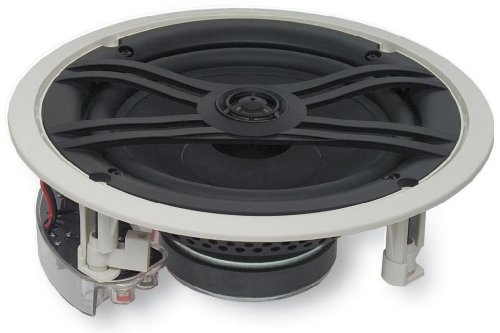Yamaha Natural Sound Custom Easy-to-install In-Ceiling Flush Mount 2-Way 120 watts Speaker (Set of 4) with 1
