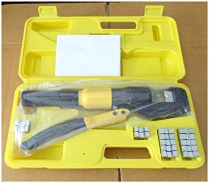 ケーブルカッター 圧着工具 圧着範囲4〜70mm² ケーブル銅線/アルミ端子 ブッシュ圧接用 圧着ペンチ 手動ケーブルカッター
