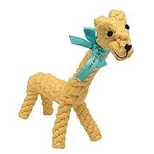 Jax & Bones Jumbo Good Karma Rope Toy, Jerry The Giraffe 16-Inch