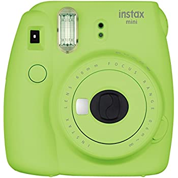 Fujifilm Instax Mini 9 Instant Camera - Lime Green