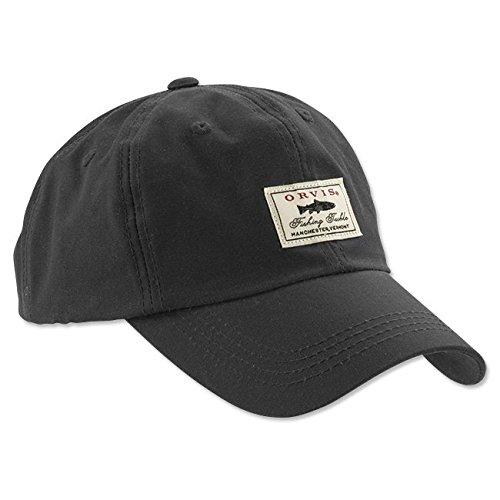 08cea2e83 Orvis Vintage Waxed-Cotton Ball Cap, Navy: Amazon.co.uk: Clothing