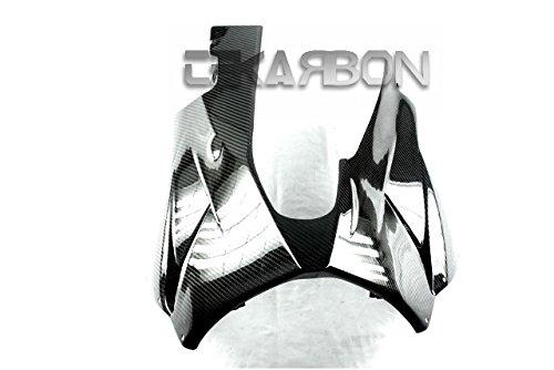 2009 - 2012 Kawasaki ZX6R Carbon Fiber Belly Pan - Twill ()