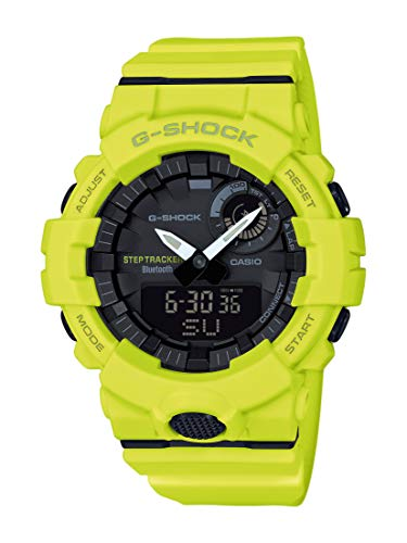 🥇 Casio Reloj Digital para Hombre de Cuarzo con Correa en Resina GBA-800