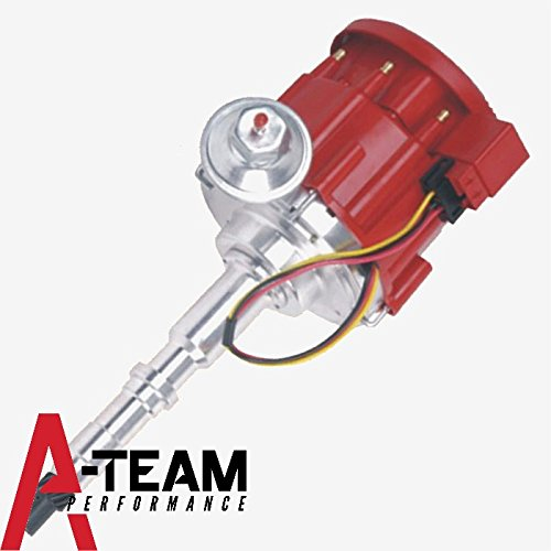 A-Team Performance AMC/Jeep V8 304 360 390 401 65K COIL Red Cap HEI Complete Distributor One Wire