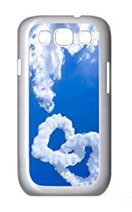 amazing cases Love Clouds PC White case/cover for Samsung Galaxy S3 I9300