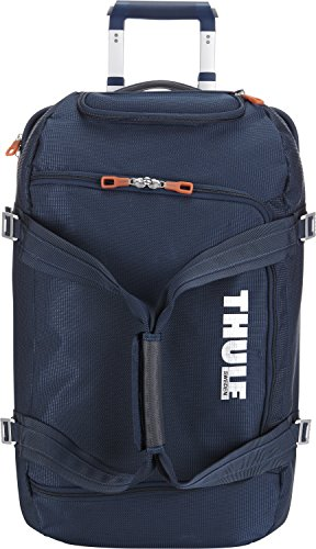 2ee17a000eb2 Thule Crossover 56-Litre Rolling Duffel Pack (Dark Blue) - Import It All
