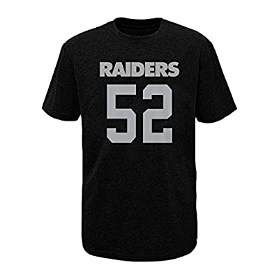 NFL Youth 8-20 Performance Mainliner Team Color Player Name and Number T-Shirt
