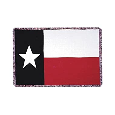 Simply Home Texas State Flag 3 Layer Afghan Throw Blanket 50  x 70  SKU 3106