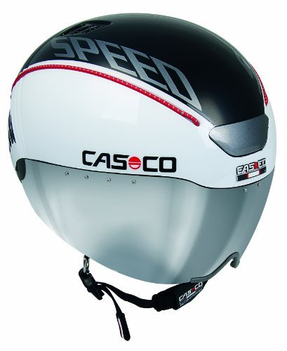 Casco Speed Time Adult Helmet, White, 55-61cm, 15.04.1500.