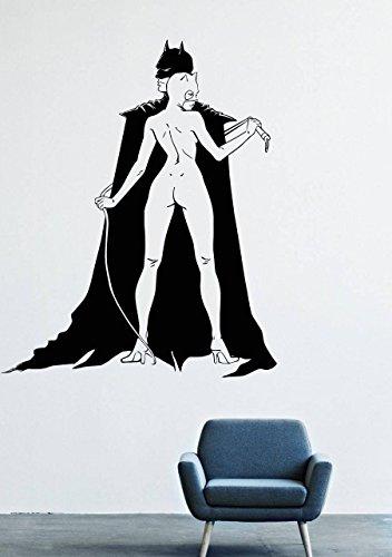 Wall Decals Mural Vinyl Decor Superhero Batman Mask DS Comics Suit Catwoman GMO0449 -