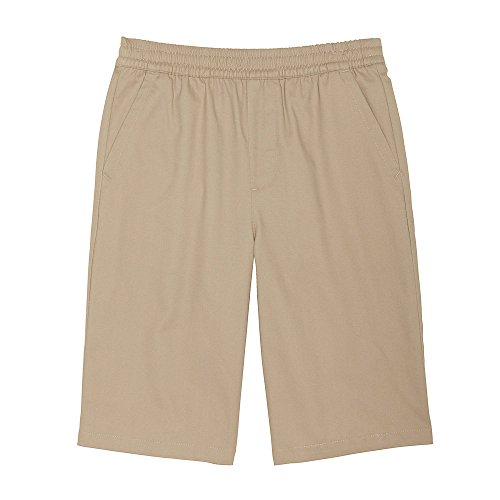 French Toast Big Boys' Pull-on Short, Khaki, 12 French Toast Boys Shorts
