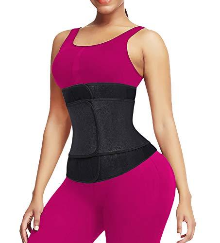 Waist Trainer Belt for Women & Man – Waist Cincher Trimmer Weight Loss Ab Belt – Slimming Body Shaper Belt