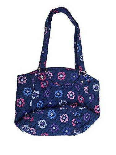 Cotton Bradley Ellie Shoulder Signature Vera Flowers Bag Glenna TBpOxWwqX