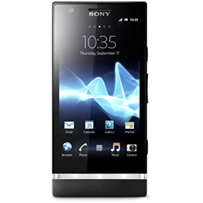 Sony Xperia Sim Free Smartphone Black
