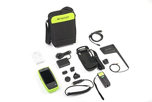 NETSCOUT AIRCHECKG2-TA-KT AirCheck G2 Wireless Tester with Test Accessory Kit, Wi-Fi Tester