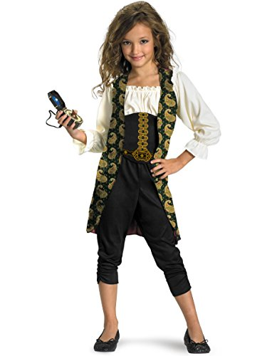 Pirates Of The Caribbean Classic Angelica Costume For Kids ()