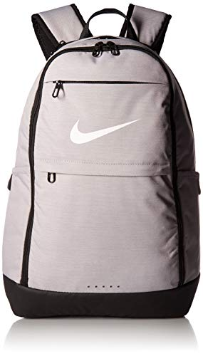 NIKE Brasilia Backpack, Atmosphere Grey/Black/White, X-Large