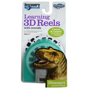 Learning 3d Reels - Samorthatrade View-Master Learning 3D Reels with Sound: Dinosaurs Ancient Giants