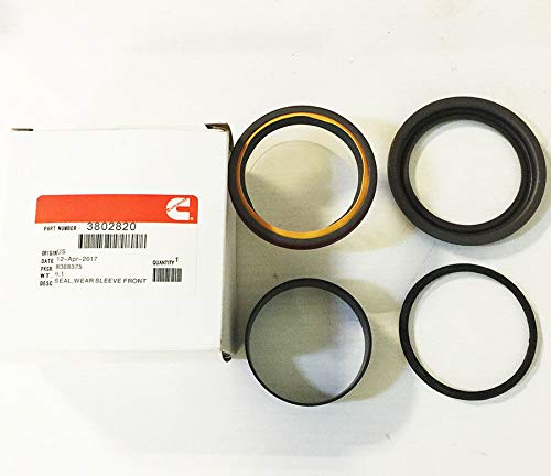 New Genuine 3802820 For Cummins Front Main Crankshaft Oil Seal with Wear Sleeve 89-15 Dodge