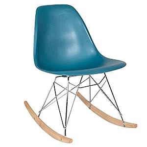 Eames Rocking Chair Teal Replica