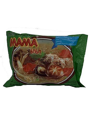 MAMA Ramen Style Instant Oriental Noodles | Bean Thread Clear Soup Flavor | 10 Pack