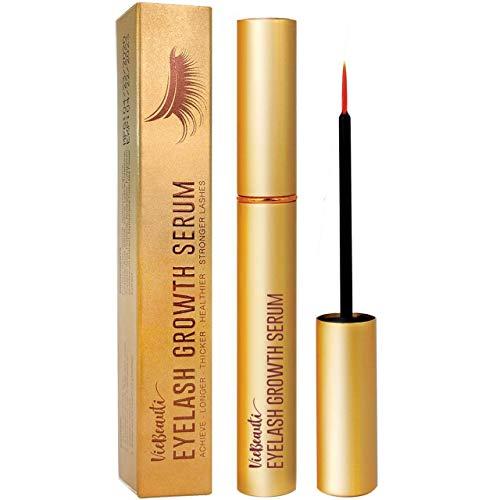 VieBeauti Premium Eyelash Growth Serum and Eyebrow Enhancement Formula, Boosts Natural Lash Growth for Thicker, Fuller…