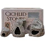 Underwater Galleries AUG6561 3-Pack Cichlid Stone
