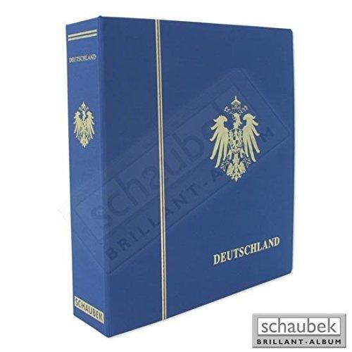 Deutschland Coat (Schaubek KO-DSP320 screw post binder with embossing Deutschland and coat of arms (Reichsadler) with slipcase)