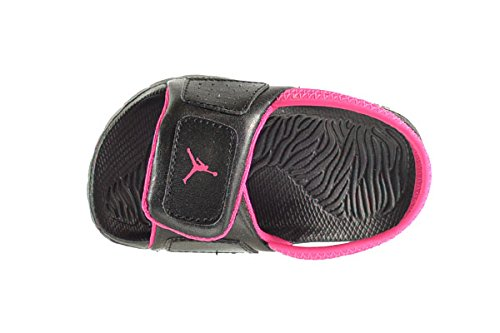 3feb10821ff Jordan Hydro 3 BT Baby Toddlers Sandals Black Vivid Pink 630761-009 ...