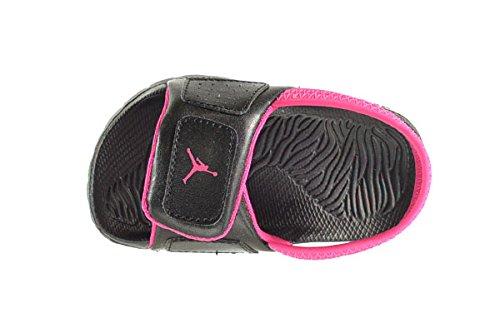Jordan Hydro 3 BT Baby Toddlers Sandals Black Vivid Pink 630761-009 ... 3c5364f4a