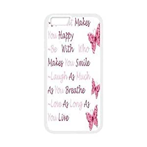 Custom Colorful Case Cover For Apple Iphone 5C Happy Life HL-503066