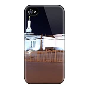 ShirleyAFields Premium Protective Hard Case For Iphone 4/4s- Nice Design - Saints On The Hill