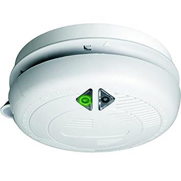 Detector de humo Elro Bar M230 Detector de Fuego para frühzeitge posibilidad Blanco: Amazon.es: Hogar