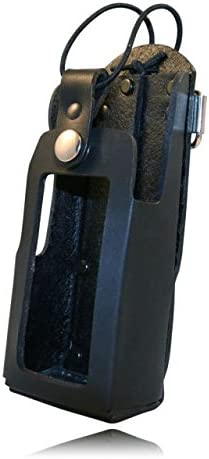 Boston Leather Radio Holder With D Rings For 5480RC-1