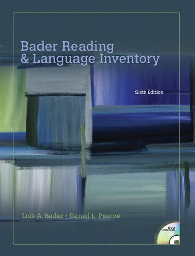 Bader Reading and Language Inventory