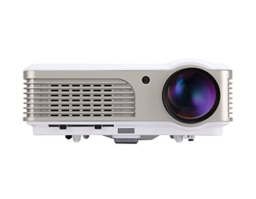 2600 Lumens Home Theater Projector, 1080p LED Multimedia LCD HD Digital Video Projectors HDMI, for Home Use Entertainment Movie Gaming, iPhone iPad Smartphone TV Blu-ray DVD Compatible