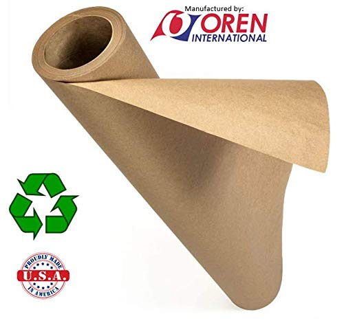 Recycled Natural Brown Kraft Paper Roll │ 48