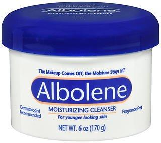 Albolene Unscented Moisturizing Cleanser, 6 Ounce