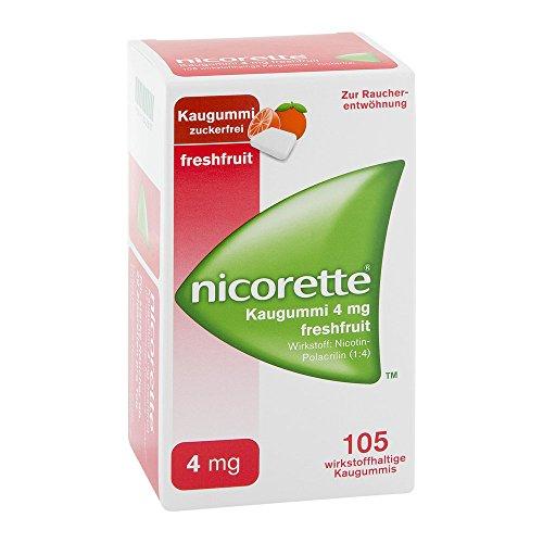 Nicorette 4 mg freshfruit, 105 St