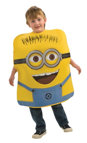 Despicable Me Childs Costume Minion Jorge Costume  sc 1 st  Best Costumes for Halloween : minion costume boy  - Germanpascual.Com