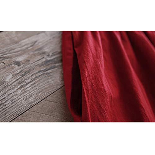 A Colletto Lunga M Arty Medio Tasca Ideale Yahuyaka size Tondo Leisure In Il Collo Studenti Lungo Tempo Manica Ufficio Per Con Libero Ynqd1S