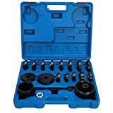 8MILELAKE 23pc FWD Front Wheel Tool Kit Drive Bearing Removal Adapter New Puller Pulley Tool Kit