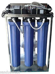 1af581180 Luzon Dzire Plastic RO Plant 100 LPH Capacity Water Purifier System ...
