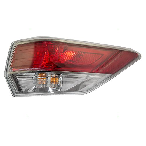 Passengers Taillight Tail Lamp Quarter Panel Mounted Lens Replacement for Toyota SUV 81550-0E100 AutoAndArt
