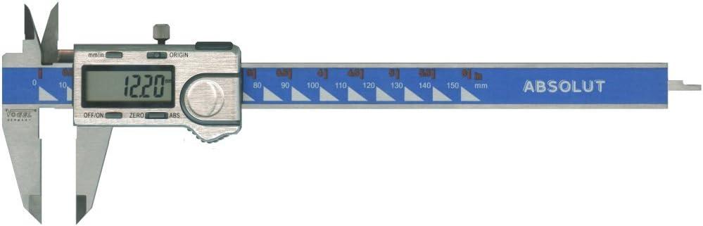 Pied /à coulisse digital 300/mm avec absolument DIN 862/ / Syst/ème